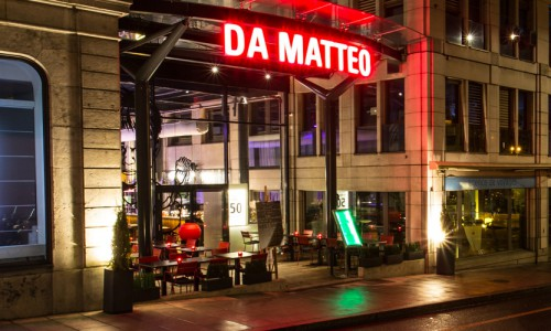 Da Matteo by night